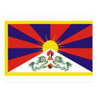 チベットの自由な旗 ポストカード