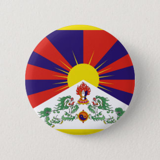 チベットの自由な旗 缶バッジ