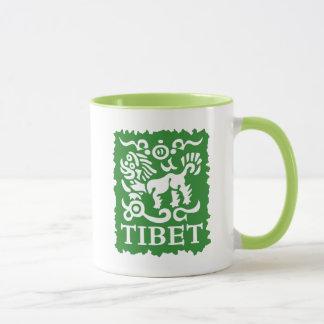 チベットの雪のライオンの茶およびコーヒー・マグ マグカップ