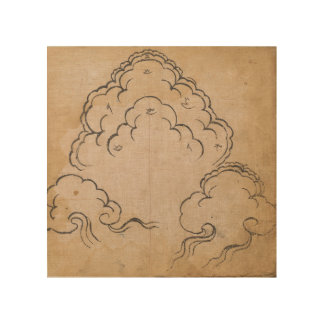 チベットの雲 ウッドウォールアート