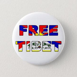チベット自由なボタン 缶バッジ