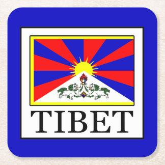 チベット スクエアペーパーコースター