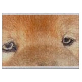 チャウチャウの目 カッティングボード