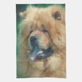 チャウチャウ犬の台所タオル キッチンタオル