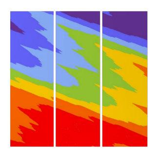チャクラによって割られる波の色 トリプティカ