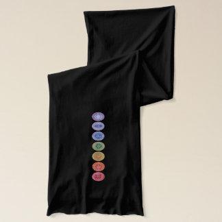 チャクラのナマステの元の芸術のスカーフ スカーフ