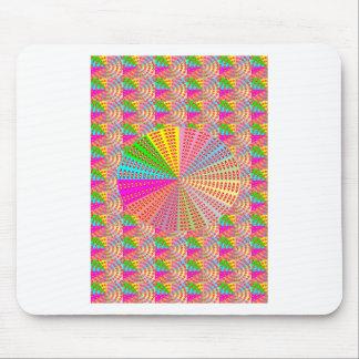 チャクラのユニークな円形の円の芸術家NAVIN JOSHI マウスパッド