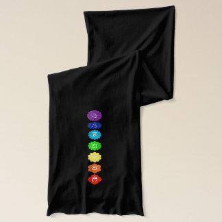 チャクラの記号の薄いスカーフ スカーフ