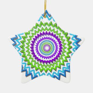 チャクラの車輪の円形のネオン輝きの治療の装飾 セラミックオーナメント
