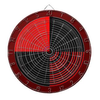 チャクラ111の斜子織赤いnの黒を放って下さい ダーツボード