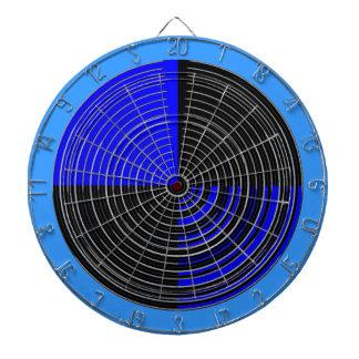 チャクラ112の斜子織青いnの黒を放って下さい ダーツボード