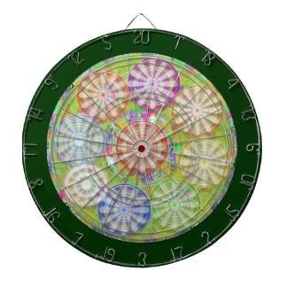チャクラ121の倍数-星nの真珠--を放って下さい ダーツボード