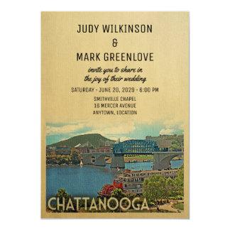 チャタヌーガの結婚式招待状テネシー州 カード
