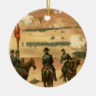 チャタヌーガ1863年のアメリカ南北戦争の戦い セラミックオーナメント