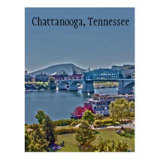 チャタヌーガ、テネシー州の写真の郵便はがき ポストカード