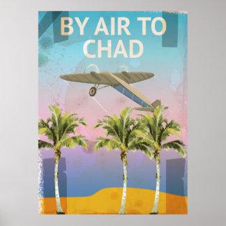 チャドのヴィンテージ旅行ポスター ポスター