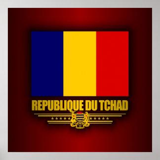 チャドの共和国 ポスター