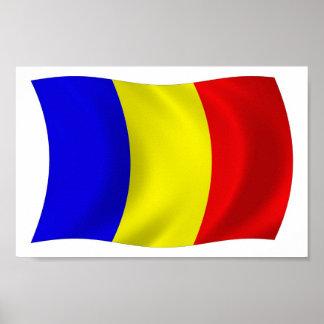 チャドの旗ポスタープリント ポスター