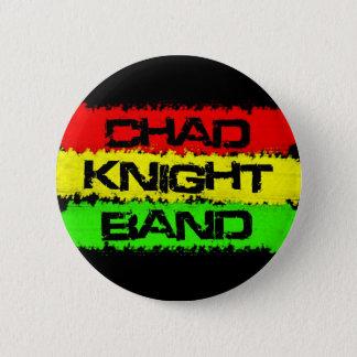 チャドの騎士バンドボタン 5.7CM 丸型バッジ