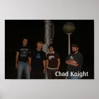 チャドの騎士バンド通りの有価証券 ポスター