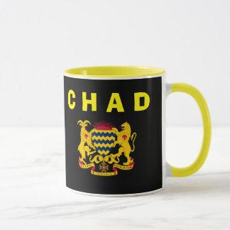 チャド共和国の頂上のマグ マグカップ
