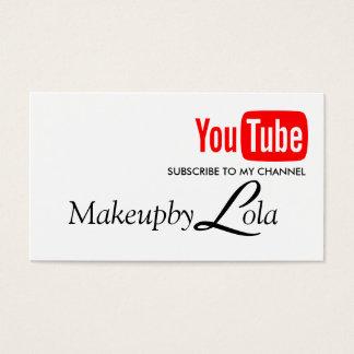 チャネルのブロガーのTubberの私のビデオを予約購読して下さい 名刺
