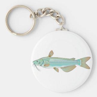 チャネルナマズの釣魚の農場の魚のシーフードの市場 キーホルダー