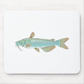 チャネルナマズの釣魚の農場の魚のシーフードの市場 マウスパッド