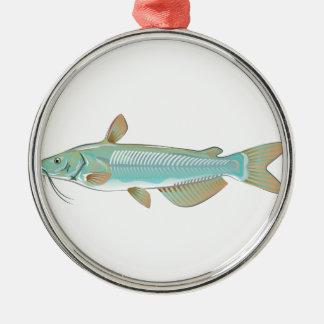 チャネルナマズの釣魚の農場の魚のシーフードの市場 メタルオーナメント