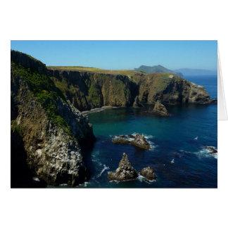 チャネル諸島の国立公園のAnacapaの島II カード