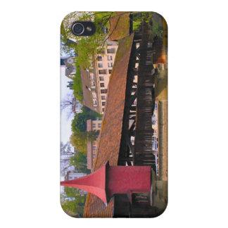 チャペル橋、ルツェルン iPhone 4/4S ケース