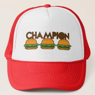 チャンピオンのハンバーガーyum! キャップ