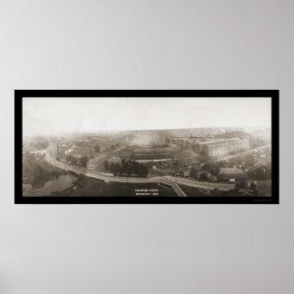 チャンピオンはオハイオ州の写真1907年を働かせます ポスター