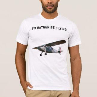チャンピオン、私はむしろ飛んでいました Tシャツ