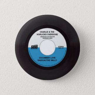 チャーリーおよびHorlicsの過量45の記録 5.7cm 丸型バッジ