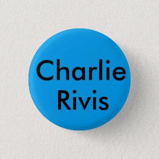 チャーリーのrivisのブルックリンのbage 3.2cm 丸型バッジ