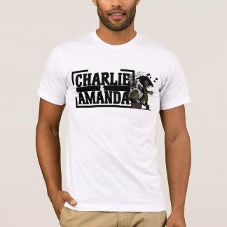 チャーリー及びアマンダの蓄音機のTシャツ Tシャツ