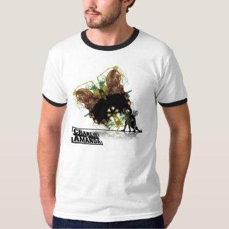 チャーリー及びアマンダの蝶信号器 Tシャツ