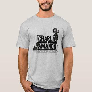 チャーリー及びアマンダのTシャツ Tシャツ
