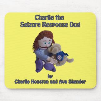 チャーリー握りの応答犬のマウスパッド マウスパッド