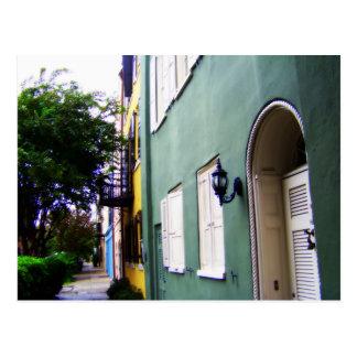 チャールストンの虹の長屋 ポストカード