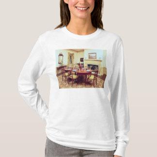 チャールストンの近くのホールの白い食堂、 Tシャツ