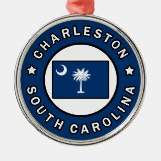 チャールストンサウスカロライナ メタルオーナメント