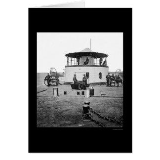 チャールストン港、SC 1865年のモニターCatskill カード
