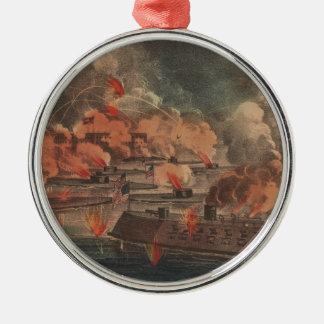 チャールストン1863の内戦の素晴らしい戦い メタルオーナメント
