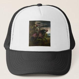 チャールズの乗馬のポートレートTitian著V キャップ
