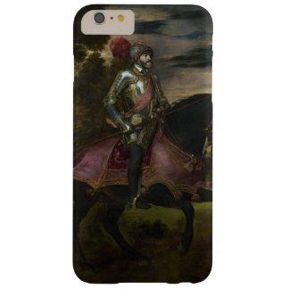 チャールズの乗馬のポートレートTitian著V Barely There iPhone 6 Plus ケース