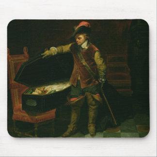 チャールズの棺を持つオリバー・クロムウェルI マウスパッド