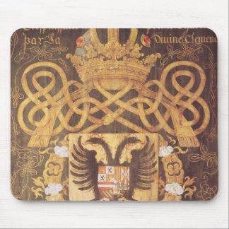 チャールズの紋章付き外衣第23章のV マウスパッド