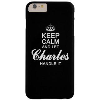 チャールズをそれを扱うことを許可して下さい! BARELY THERE iPhone 6 PLUS ケース